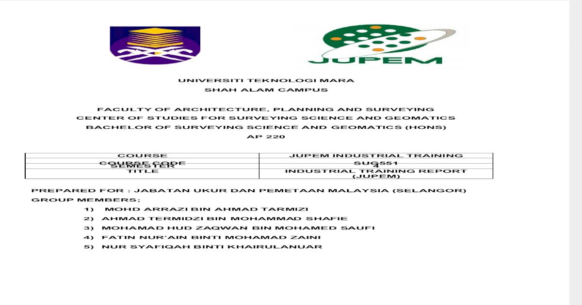 Jupem S Report Pdf Document