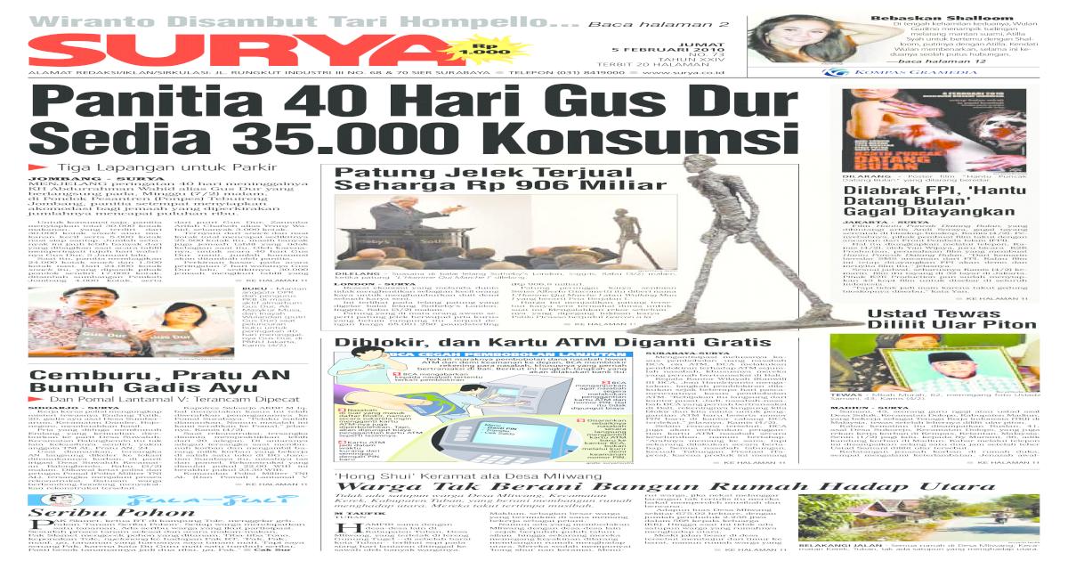 Model Rumah Minimalis Ukuran 7x16 surya edisi cetak 05 feb 2010 pdf document