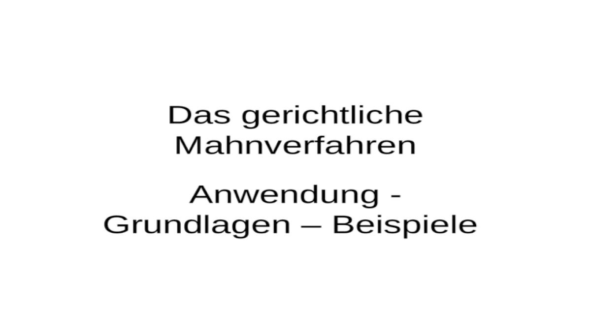 katalognummer mahnbescheid