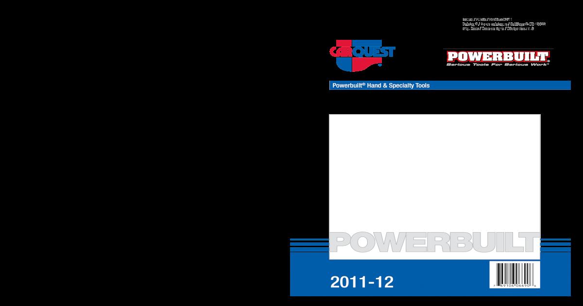 644140 Powerbuillt Powerbuilt 1//4 Mirror Polish Combination Wrench SAE