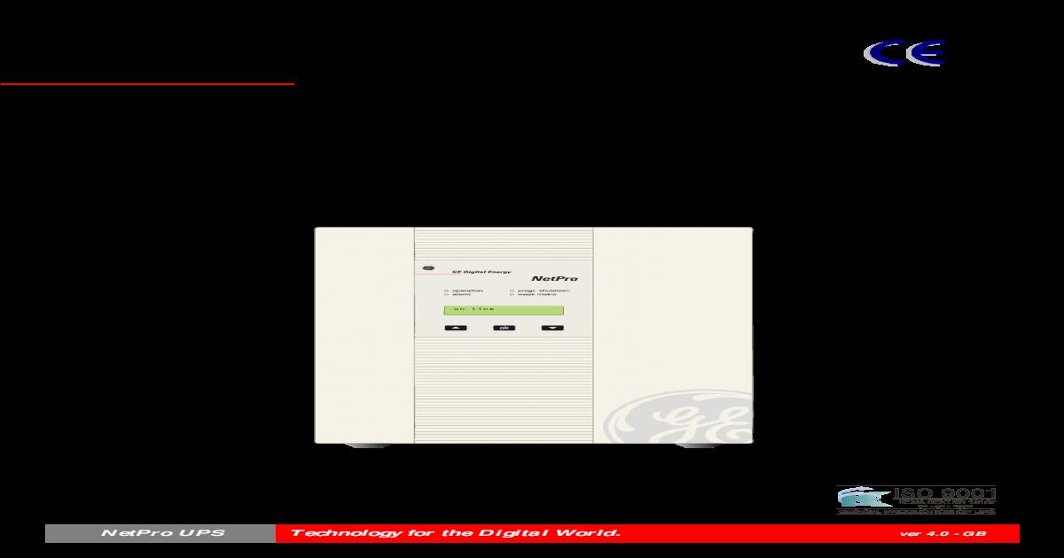 GE DIGITAL ENEGERY NETPRO UPS 600 1500 DRIVERS WINDOWS XP
